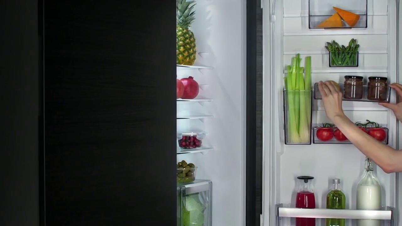 Aeg Customflex Kühlschrank : Aeg customflex built in fridge freezer sell out training video