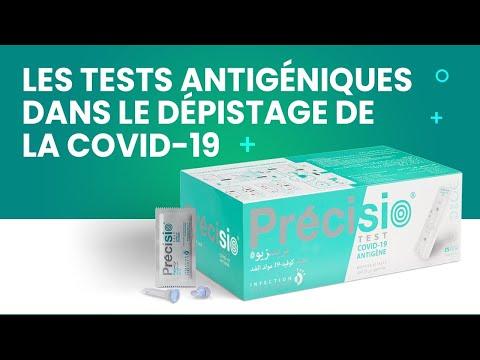Le test antigénique dans le dépistage de le coronavirus