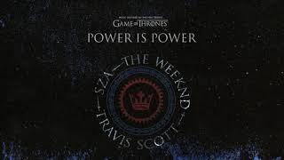 The Weeknd X SZA X Travis Scott- Power is Power (Official Audio)