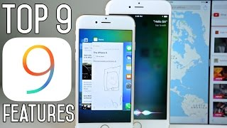 Top 9 iOS 9 Features - What