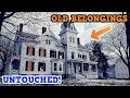 Scary Abandoned Mansion With Old Belongings!