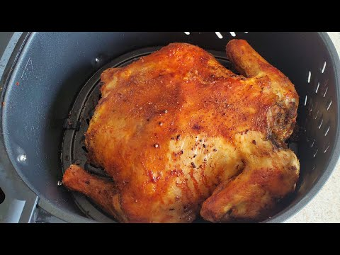 air-fryer-whole-chicken-7qt-1700w-power-xl-vortex-air-fryer-@-sam's-club-$99-unboxing-review