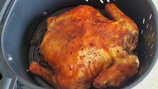 Air Fryer Whole Chicken 7qt 1700w Power XL Vortex Air Fryer @ Sam's Club $99 Unboxing + Review