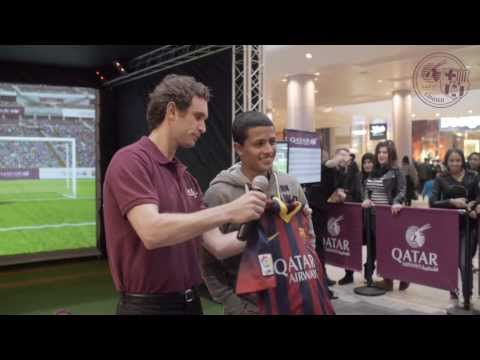 FC Barcelona Football Experience at Westfield, London - Qatar Airways