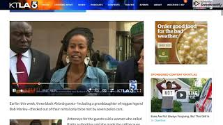 Bob Marley's Granddaughter Lawyer Detail Police Response to Rialto Airbnb Amid Controversy   KTLA