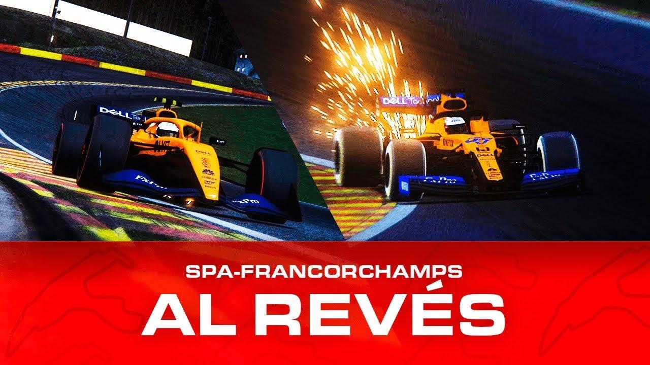 F1 2019 VS F1 2021 - SPA FRANCORCHAMPS AL REVÉS (Assetto ...