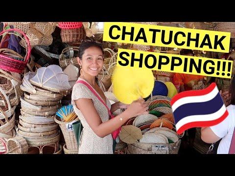 CHATUCHAK WEEKEND MARKET (Cheap shopping in Bangkok + Haul)