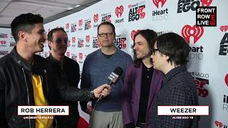 Weezer Talk New Album with Dave Sitek at iHeartRadio ALTer Ego 2019