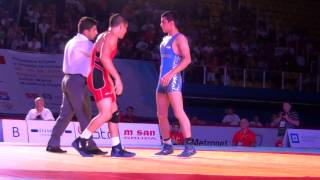 Jr World FS - Yazdanicharati (IRI) dec. Pico (USA), 66 kg finals