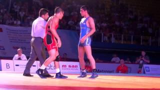 Jr World FS - Yazdanicharati (IRI) dec. Pico (USA), 66 kg finals