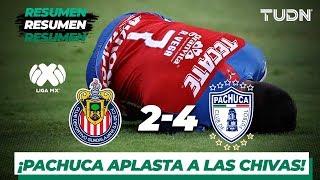 Resumen y Goles Guadalajara 2 - 4  Pachuca | Liga MX - Jornada 11 - Apertura 2019 | TUDN
