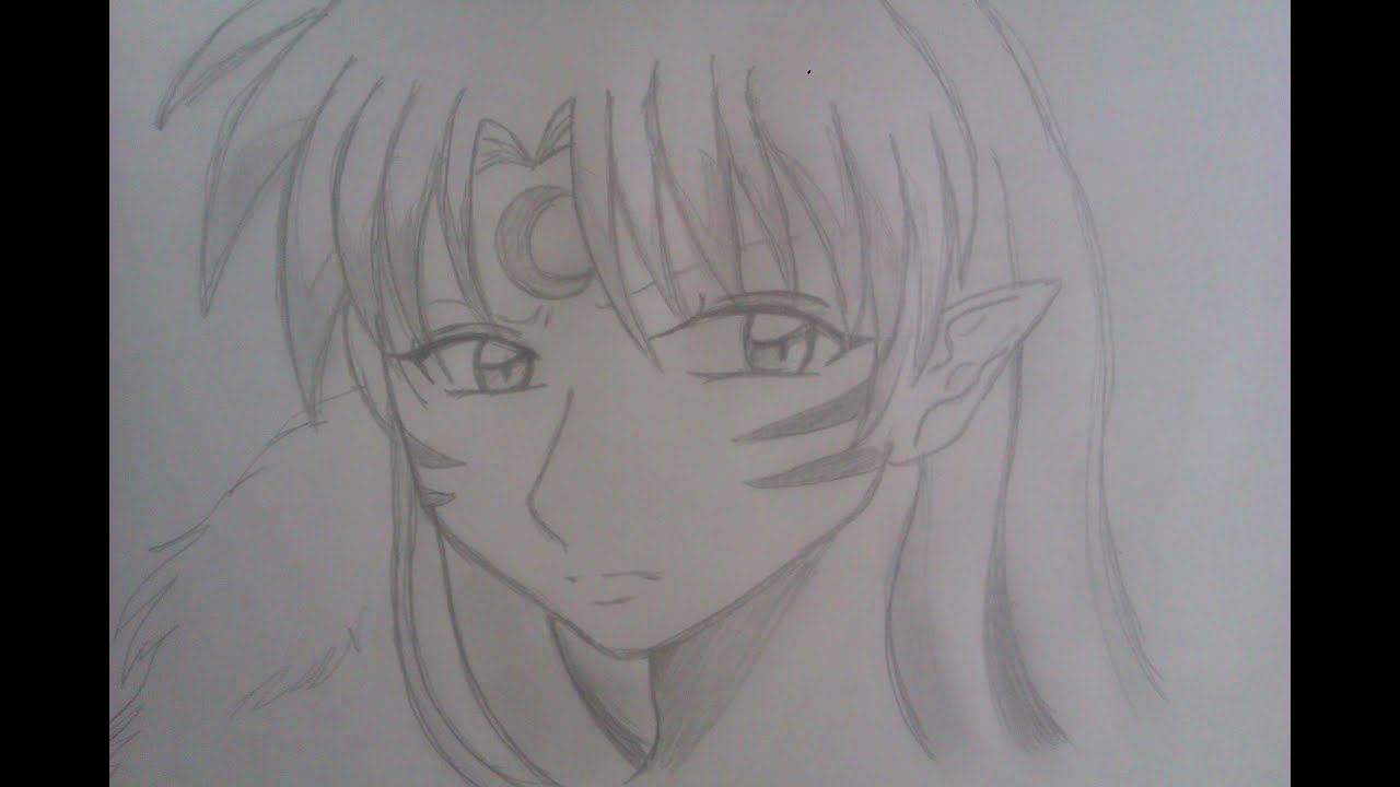 how to draw sesshomaru from inuyasha