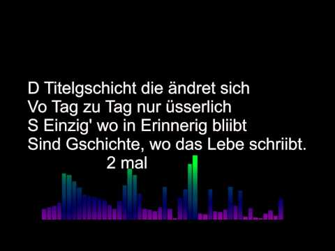Titelgschicht Lyrics Subzonic