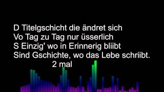 Titelgschicht Lyrics
