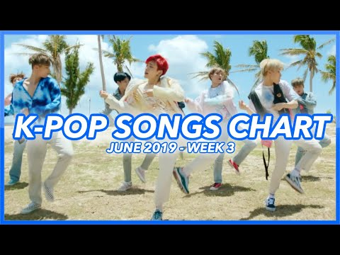 TOP 100 K-POP SONGS CHART  JUNE 2019 WEEK 3