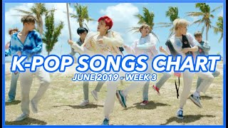 (TOP 100) K-POP SONGS CHART | JUNE 2019 (WEEK 3)