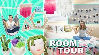 Finally THE ROOM TOUR!!! | Bedroom Decor Ideas For Teens