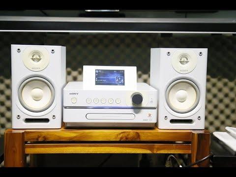 Sony NAS-D55HD | Dàn máy chơi nhạc đa di năng công nghệ