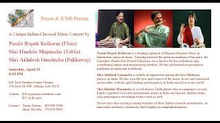 Pt. Rupak Kulkarni concert in Atlanta