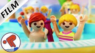 Playmobil Film Deutsch JULIAN + HANNAH MACHEN BRONZE SCHWIMMABZEICHEN! FREISCHWIMMER! Familie Vogel