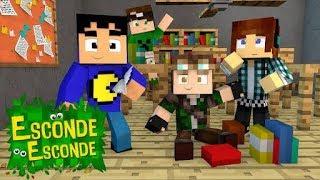 Minecraft Música - ESCONDE-ESCONDE ♫ (Minecraft Animation) TazerCraft