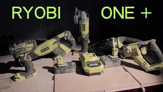 RYOBI One + Инструмент или игрушка?