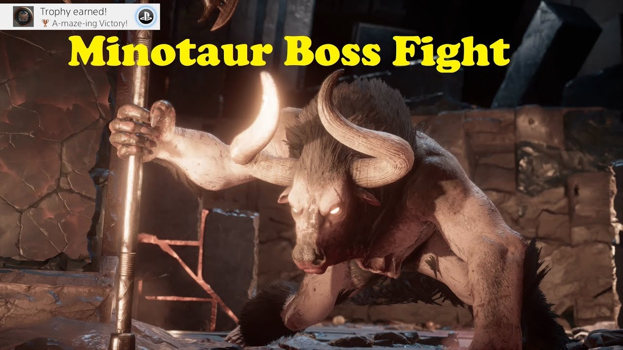 Assassins Creed Odyssey Minotaur Legendary Secret Boss Fight