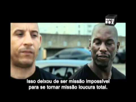 Trailer do filme Velozes & Furiosos 5: Operação Rio