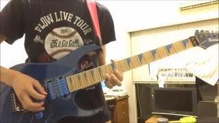 【FLOW】「BURN」Guitar COVER【テイルズ オブ ベルセリア OP】