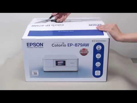 プリンターの開梱とセットアップ (エプソン EP-880A、EP-879A) NPD5635