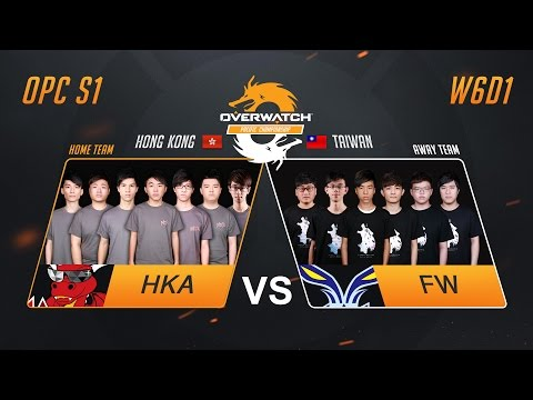 HKA vs FW | W6D1 Match 1 | OPC S1