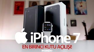EN BİRİNCİ iPHONE 7 KUTU AÇILIŞI [4K]
