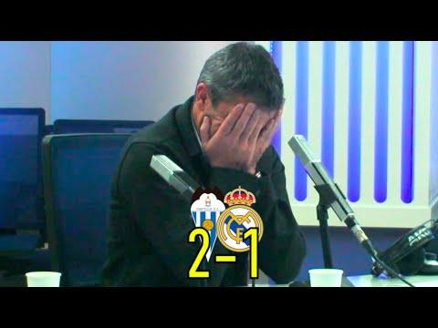¡ALCOYANAZO y el Real Madrid eliminado! Reacción de Manolo Sanchís y narración de Manolo Lama