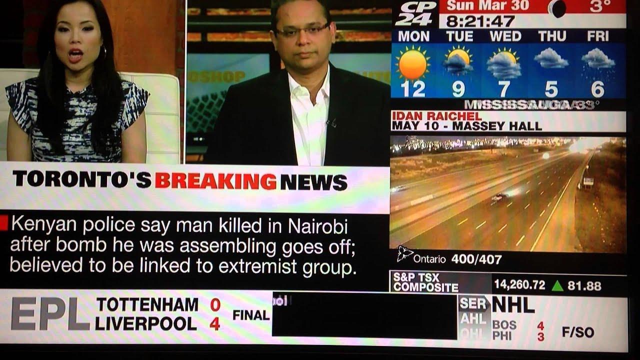 Khandker Nurul Habib @CP24 News Live on 30 March 2014 ...