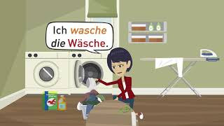 "Learn German A1 | Vocabulary daily routine | Article ""der"", ""die"" or ""das"" 