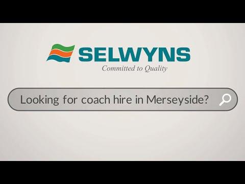 Merseyside Coach Hire ~ Selwyns Travel Ltd