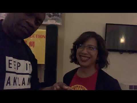 Nikki Bas On Oakland A's Howard Terminal Ballpark Community Meeting At Hotel Oakland