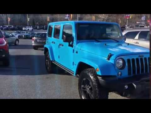 2017 Jeep Wrangler Winter Edition Chief Blue - YouTube