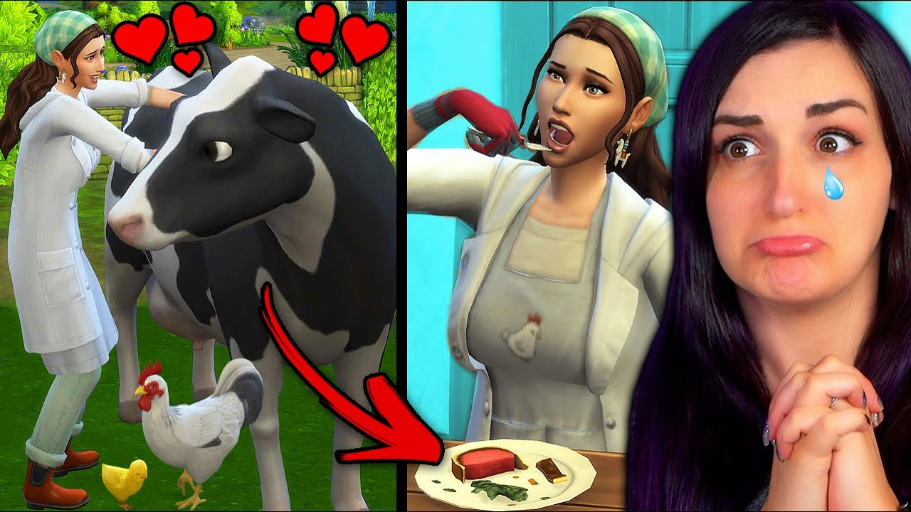 The Sims 4 ...but I EAT ALL THE ANIMALS