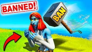 *WORLD'S WORST CHEATERS* GET BANNED!! - Fortnite Funny Fails and WTF Moments! #1025