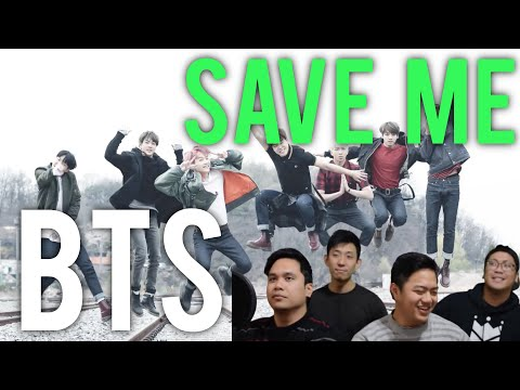 BTS | SAVE ME MV Reaction [4LadsReact]