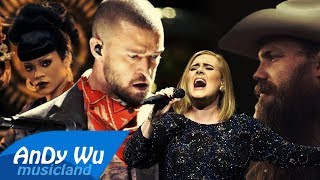 Justin Timberlake - Say Something (Adele Remix) ft. Chris Stapleton, Rihanna