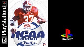 NCAA Football 2001 (Sony Playstation) Oklahoma vs Florida State (Gameplay) The PS1 Files