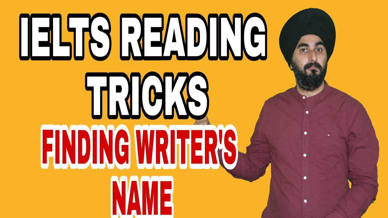 Ielts Reading Tips And Tricks Matching Writer's Name | Reading Passage  Problems With Water