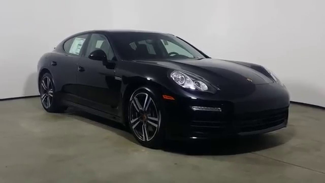 2016 Porsche Panamera Edition 8697p