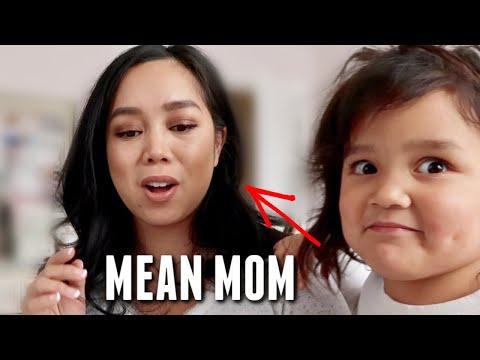 My Mean Mom Moment 😅- Itsjudyslife
