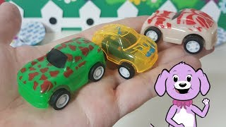 Toy Car Surprise Eggs - Jolly - Playing with the car toys for toddlers and kids.