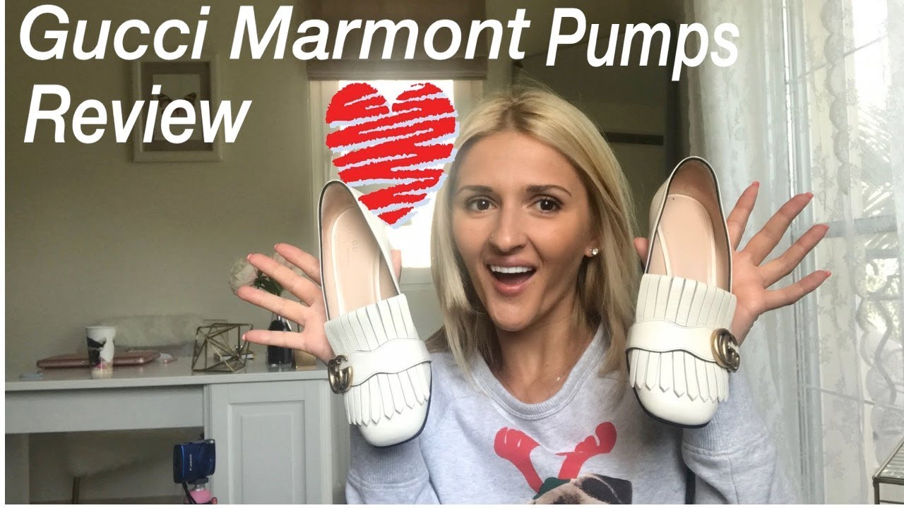 dbe631827af GUCCI MARMONT PUMPS 3 MONTH REVIEW - YouTube