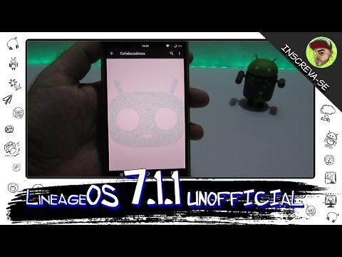 LineageOS 7.1.1 UNOFFICIAL ( CM OU LineageOS? )  o que mudou? (Review LG G3)