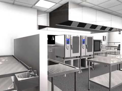 Garden Centre Kitchen Design 3D Animation